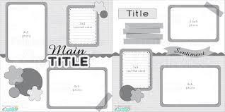 12x12 scrapbook 12x12 two page free printable scrapbook layout