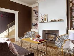 Decor With Accent Black And Brown Colors Modern Interior Design Trends