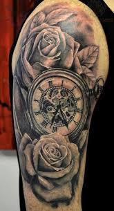 shoulder flower tattoos for women rose tattoo description from