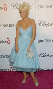 ebay bargain christina aguilera u0027s monique lhuillier dress