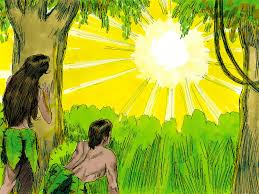 free bible images adam and eve disobey god and face the