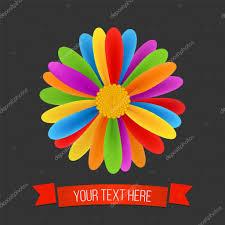 Flag Flower Rainbow Flower Peace Tolerance Culture Symbol Vector