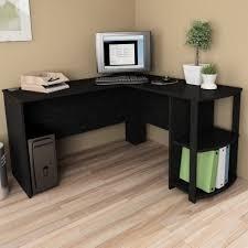 O Sullivan Computer Desk With Hutch by L Shaped Desk Ebay