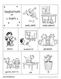 printable prepositions poster educational tools for success