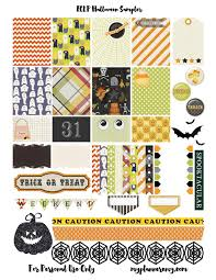 erin condren life planner free printable stickers free printable halloween sler for the erin condren life planner