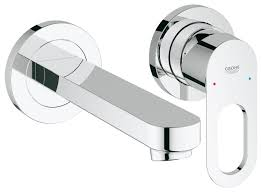 Grohe Catalog Grohe Wall Mounted Two Hole Basin Mixer 20289000 Bauloop Buy Online