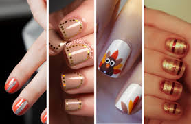 7 thanksgiving manicure ideas