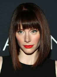 medium length swing hair cut bob cut hairstyles for narrow face with bangs hair pinterest