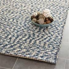 natural fiber area rug in blue and ivory safavieh area rugs by