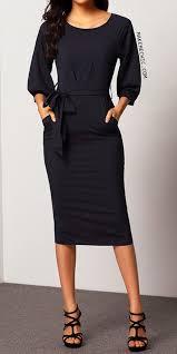 sleeve belt chiffon slim dress makemechic com clothes