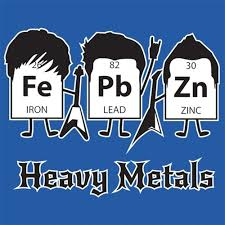 what are the heavy metals on the periodic table heavy metals periodic table t shirt