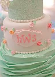 shabby chic baby shower cake rose bakes