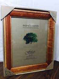 new fetco eco elements picture frame renewable wood sierra cherry