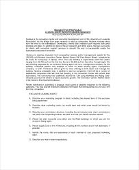 lease proposal template 9 free word pdf documents download