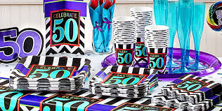 50th birthday party supplies celebrate 50th birthday party supplies 50th birthday party city