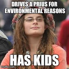Impact Meme - humans have a bigger impact on the environment than a hybrid car can