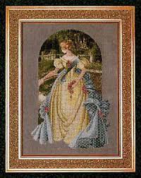 lavender and lace queen anne u0027s lace cross stitch pattern