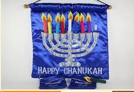 hanukkah banner happy hanukkah banner sign garland decoration ideas family