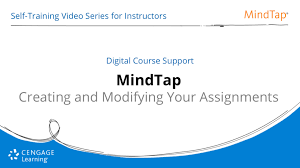 Creating and Modifying Your Assignments Cengage