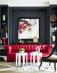 red leather sofa living room elegant red leather sofa living room interior design
