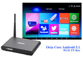 android dlna android 5 1 smart tv box with octa cpu ultra hd cts systems