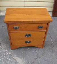 antique oak night stand ebay
