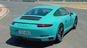 porsche sport car 2017 porsche 911 carrera gts miami blue ultimate sports car 450