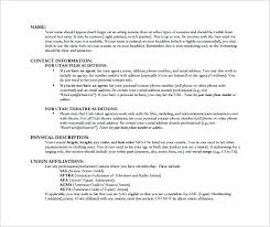 movie theater resume sample appealing technical theatre resume