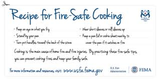 thanksgiving cooking safety fairfax county emergency information