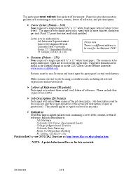Resume For Job Interview by Job Interview Livebinder