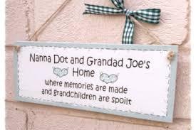 grandparent plaques personalised grandparent wooden plaque