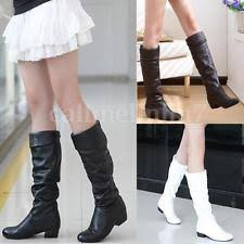 womens boots ebay uk womens leather mid calf boots ebay
