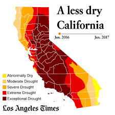 california drought map january 2016 call it the southern california drought and snow end