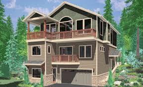 homes for narrow lots waterfront house plans lakefront coastal lake front homes narrow