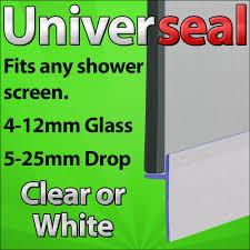 vertical shower door seals universal glue stick bath shower screen door seal extrusion strips