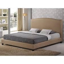 amazon com baxton studio aisling fabric platform bed queen dark amazon com baxton studio aisling fabric platform bed queen dark beige kitchen dining