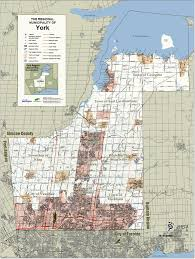 Map Of Ontario Canada Map Of York Region Ontario Canada You Can See A Map Of Many