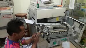 Mesin Fotokopi Rusak cara mengganti timing belt fotokopi ir yanng rusak