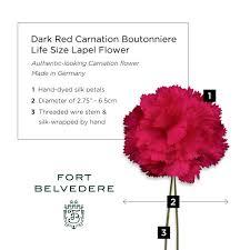 lapel flower carnation boutonniere size lapel flower fort belvedere