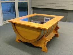 Simple Tv Cabinet With Glass Wine Barrel Tables Glass U2014 Home Ideas Collection Tips Recycle