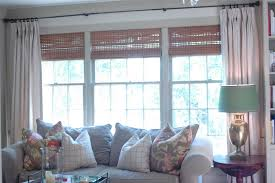 Window Treatments Living Room Nine Sixteen Window Treatments Take Two