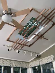 how to build a wooden skylight screen hgtv