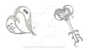 lock and key tattoos by emaria shadowgait on deviantart