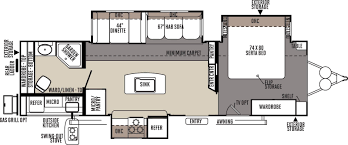 Rear Kitchen Rv Floor Plans Forest River Rockwood Rvs For Sale In Lake Charles Louisiana