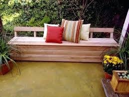 Deck Storage Bench Storage Bench Outdoor Wooden Outdoor Storage Bench Seat Australia