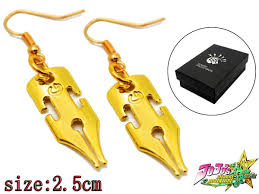 jojo s earrings jojo s adventure rohan kishibe women earrings ear stud