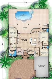 where can i find floor plans for my house large living space and master suite with a pool and spa my dream