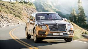 golden bentley bentley bentayga priced at 229 100 in the u s autoweek