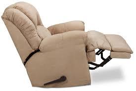 Fabric Recliner Armchair Decker Recliner Camel Levin Furniture