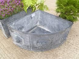 cast iron corner planter in garden urns pots planters